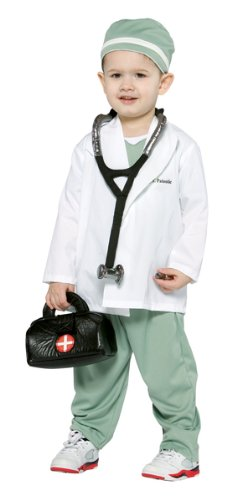 [Toddler (3-4T) - Little Doctor Costume and Accessories] (Doctor Costumes For Toddlers)