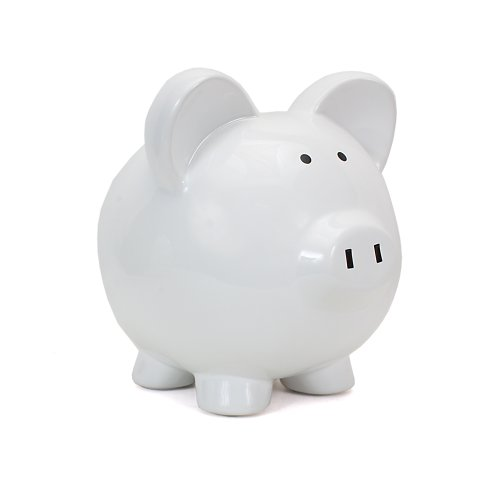 Child Cherish Large Piggy White product image