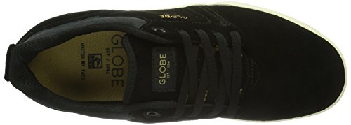 Global Eye Wear Shinto - Zapatillas de skate para hombre Schwarz (black/antique 10892)