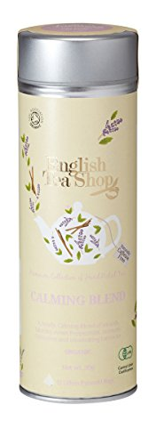 English Tea Shop - Calming Blend - 15 Pyramid Infusers in Tube - 30g