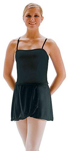 Motionwear Wrap (Motionwear Girl's Wrap Tie Sheer Short Skirt M PINK)