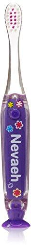 Dimension 9 938116 Personalized Flashing Toothbrush, Nevaeh