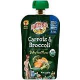 - Organic Carrots & Broccoli Puree (12-3.5 OZ) Organic Carrots & Broccoli Puree