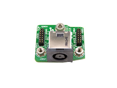 New DC in Power Jack Board Replacement for ASUS G751JY Series:G751JY-WH71 (CA31) G751JY-QH72-CB G751JY-DH71 G751JY-DH72X G751JY-DB73X G751JY-T7051H G751JT-CH71 60NB06M0DC1050 ()