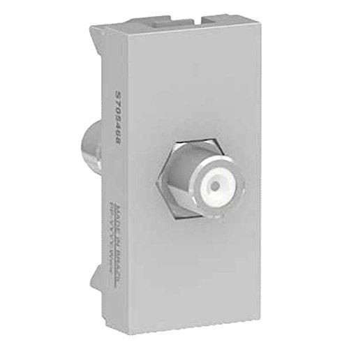 Modulo Tomada Para TV Aluminio Orion Schneider