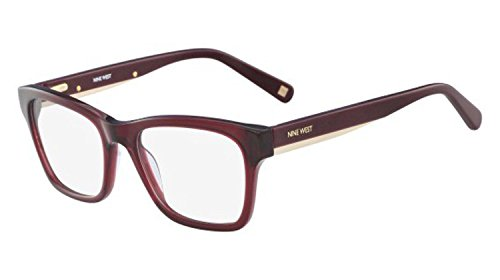 Eyeglasses NINE WEST NW 5124 602 Crystal Burgundy