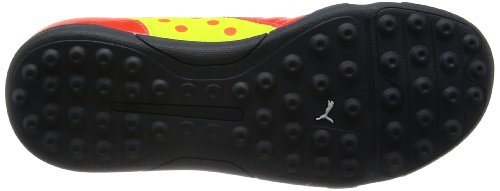 Puma Evopower 4 Tt - Zapatillas de fútbol Rojo (Rot (fluro peach-ombre blue-fluro yellow 01))