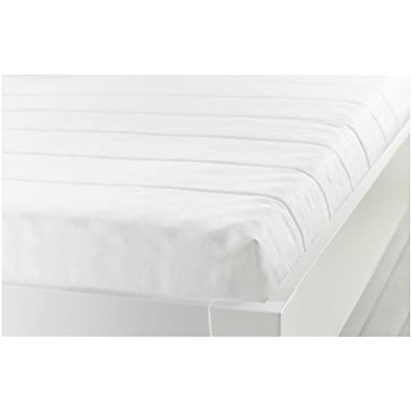 Ikea MINNESUND Twin Size Foam Mattress Firm White 828 51726 3026