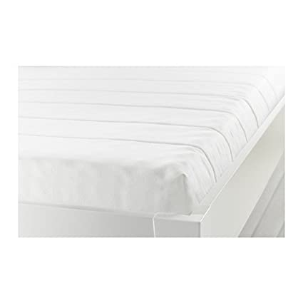 Amazon.com: IKEA MINNESUND Queen Size Foam mattress, firm, white