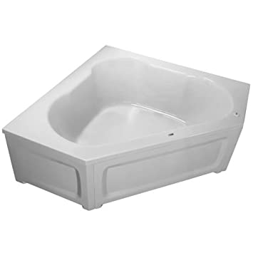 ProFlo PFS6060SK 60u0026quot; X 60u0026quot; Corner Soaking Bath Tub ...