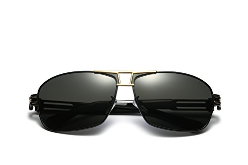 TOOSBUY Aviator Sunglasses Polarized Mirrored with Sun Glasses Case UV 400 Protection - Official Aviator Sunglasses Website