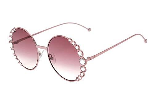 Fendi Ff 0324 S - Óculos De Sol 35J 3X Rosa Brilho/rosa Deg