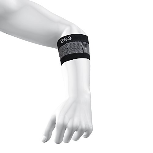 OS1st ES3 Compression Elbow Bracing Sleeve, Top Selling Elbow Brace for Tennis and Golf Elbow (Medium)