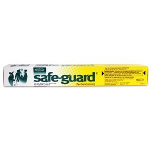 Merck Animal Safe Guard Beef Dairy Cattle Dewormer Paste 290gm