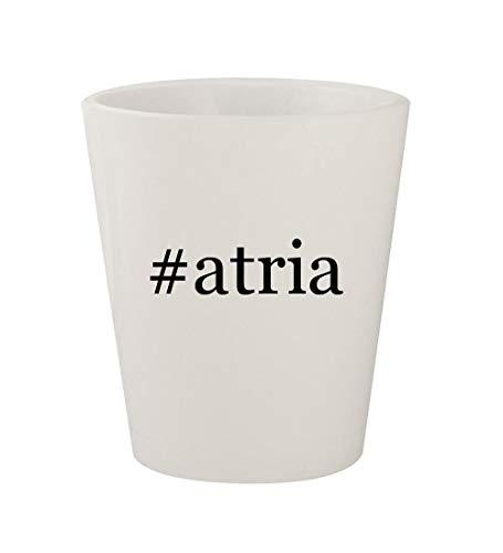 (#atria - Ceramic White Hashtag 1.5oz Shot)