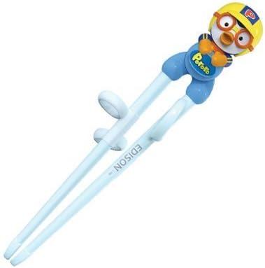 Pororo Edison Training Chopsticks for Left Handed Children 2nd Step