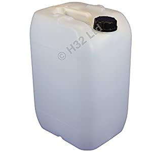 25 Litre Plastic Water Container – Drum – JERRICAN – 25L Containers – Anti-glug System
