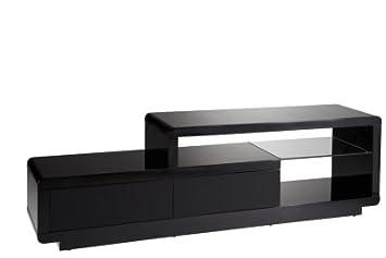 nouvelle collection 66159 43aed Meuble TV SAMSON Noir: Amazon.fr: Cuisine & Maison