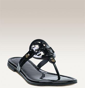 8c19e9d1e909f2 Tory Burch Miller Patent Leather Sandal