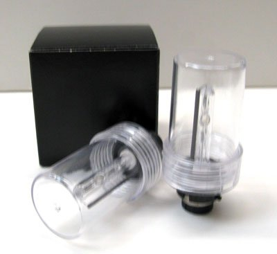 D2R 6000K (White) HID OEM Repleacement Light Bulb for Mercedes Benz 1997 S500 2 Dr Only Low Beam (One Pair)
