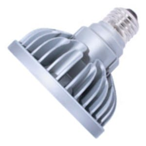 Bulbrite SP30S-18-36D-827-03 SORAA 18.5W LED PAR30S 2700K PREM. 36° Dimmable Light Bulb, Silver
