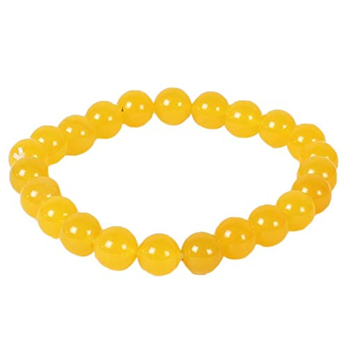 Shri Bankey Bihari Jewellers Jewelswonder 100% Original & Natural Yellow Aventurine Bracelet (Feng Shui, Vastu,Astrology,Aura Purpose) with JGL Lab Certified Report