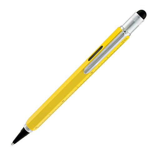 (Monteverde USA One Touch Tool Pen, Inkball Pen, Yellow (MV35222))