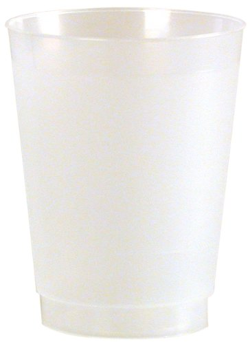 Frost-Flex Plastic Drinking Cup, 12-Ounce, Frosted (500-Count) by WNA