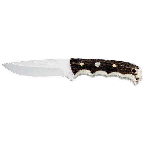 Cheap Sportsman Supply Inc. Puma 6814001 Catamount II Stag SGB Fixed Blade Knife, Plain Stag