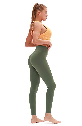 fbccff0efc icyzone Workout Leggings for Women - Power Flex Athletic Yoga Pants  Exercise Gym Running Tights