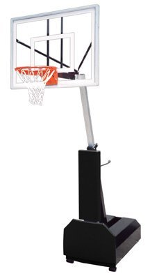 First Team Fury Turbo Steel-Glass Portable Basketball Sys...
