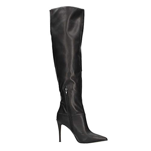 Negro Mujeres Ele11 Botas Flora4 Guess BnUqpPw