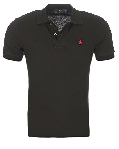 Multicolore Fit Large Poloshirt Homme Noir Lauren Small New Ralph Custom Pony xqC0Ufxaw