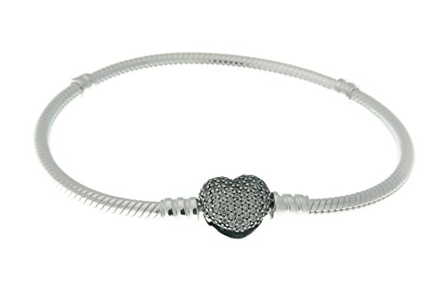Silver Heart Clasp - 7