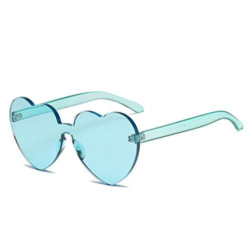 de de Forma 1 YANJING de y Siameses Gafas en 6 Love Sol Color Color Gafas Sol Corazón los Corazón Estados Unidos Mujeres Jelly Europa Gafas Trend vr15YqvwP4