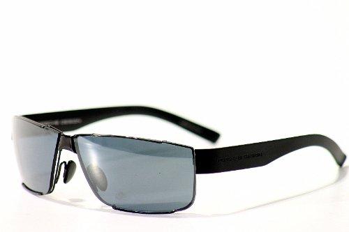 Porsche Sunglasses P'8509 P8509 C Black - P Brand Sunglasses