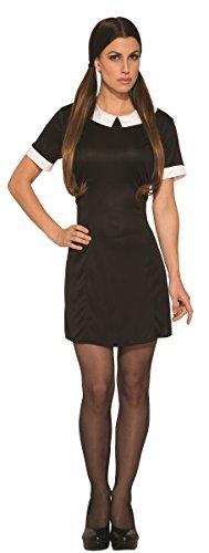Forum Women's Dark Little Girl Costume Dress, Black, Std