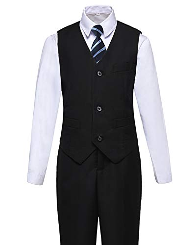 Boys Suits Kids Vest and Pants Set Formal Wear Outfit Suit for Wedding Size 3T