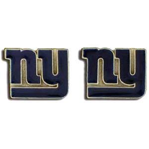 NFL New York Giants Stud Earrings - New York Giants Jewelry