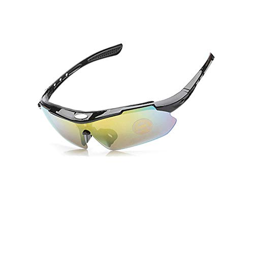 Flower falling Polarized Sunglasses Cycling Glasses Bike Eyewear Bicycle Goggles Men Women,Black