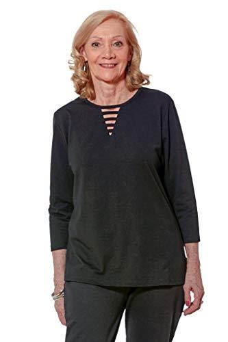 Ovidis Knit Top for Women - Black   Touki   Adaptive Clothing - M