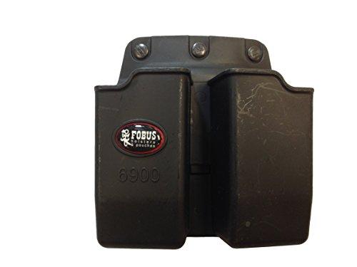 Fobus Pouch Belt - Fobus  Belt 6900BH Double Mag Pouch Glock K9&40