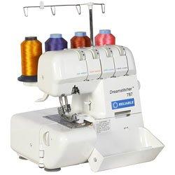 Reliable DreamStitcher 600SO 2/3/4-Thread Portable Sewing Machine