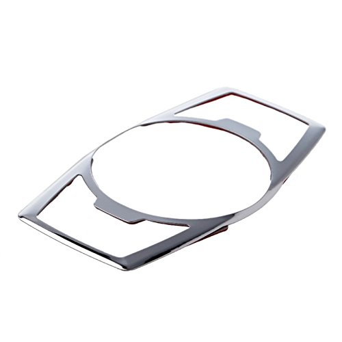 Emblem Trading Emblem Lichtschalter Blende Abdeckung Rahmen Edelstahl Silber Autozubeh/ör