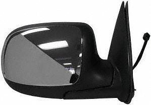 02 Power Side Mirror (99-02 CHEVY CHEVROLET SILVERADO PICKUP MIRROR RH (PASSENGER SIDE) TRUCK, Power, Non Heated, Folding Type, Chrome (1999 99 2000 00 2001 01 2002 02) GM59ER)