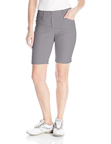 adidas Golf Women's Essential Bermuda Shorts, Size 4, Grey Three