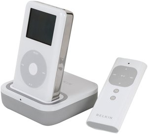 V Dock with Remote for iPod with Dock Connector (White) ()