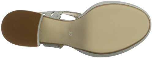 Peperosa 6502 - Sandalias con cuña Mujer Grau (Perla)