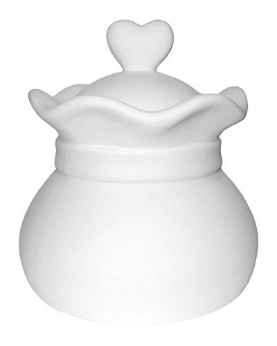 I Love You Keepsake Jar - Paint Your Own Ceramic Keepsake
