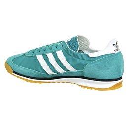 adidas SL 72, Zapatillas de Deporte para Hombre Verde / Blanco / Azul Marino (Eqtver / Ftwbla / Maruni)